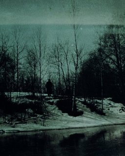 »Man on riverbank«, 2013