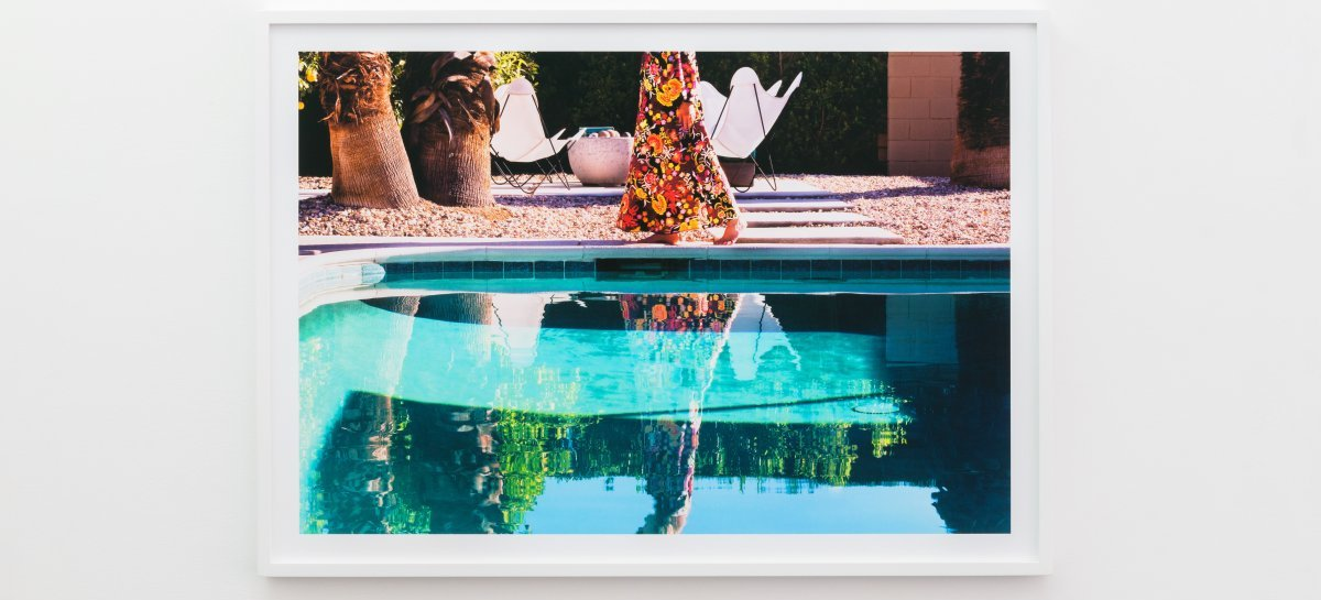 Nancy Baron: »Backyard Morning«, 2012 from the series »Palm Springs - The good Life«