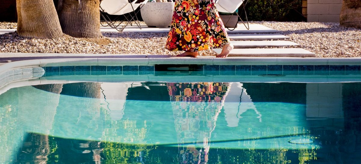 Nancy Baron: »Backyard Morning«, 2012 from the series »Palm Springs - The good Life« (detail)