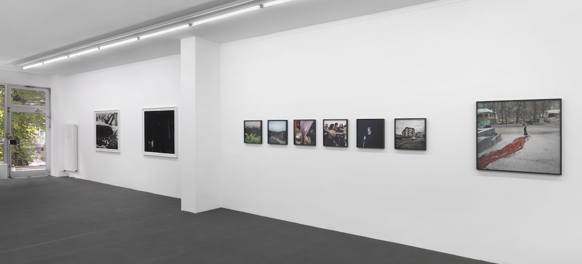 Ausstellungsansicht | Installation view: Davide Monteleone »Borderline Empire«, Kehrer Galerie, 2014.