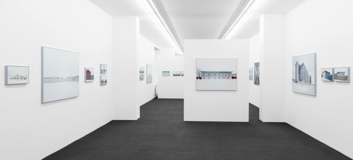 Gregor Sailer: »The Potemkin Village«  Installationsansicht | Exhibition view Kehrer Galerie, 2018.